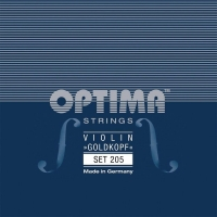 Pirastro Optima Gold Head Strings For Violin