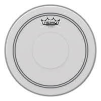 Remo P3-0112-C2 Powerstroke 3 Coated Top Clear Dot 12""