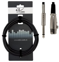 Alpha Audio Basic Line Microphone Cable XLR/Jack 9 м