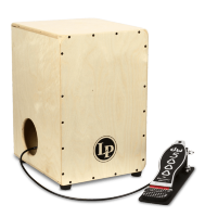 Latin Percussion LP1400NWP 2-Sided Cajon With DW Pedal