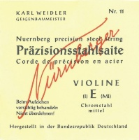 Nurnberger Precision Violin Strings 3/4