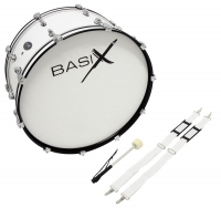 Basix Marching Bass Drum 24x12""