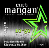 Curt Mangan Stainless Wound Extra Light Set 10-50