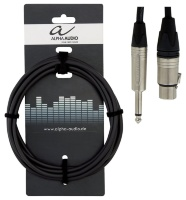 Alpha Audio Peak Line Microphone Cable XLR/Jack 3 м