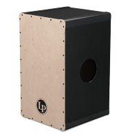 Latin Percussion LP1413 DIY 2-Voice Cajon Black Box Americana