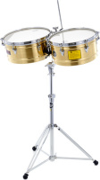 Latin Percussion LP1415-BZ Timbales Prestige Solid Bronze