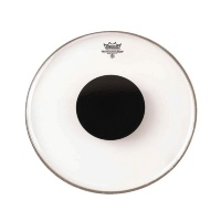 Remo CS-0316-10 Controlled Sound Clear Black Dot On Top 16''
