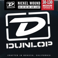 Dunlop DBN Nickel Wound Bass Medium 6 Tapered 30-130Т