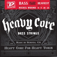 Dunlop DBHCN Heavy Core Bass NPS Heavyest 55-120