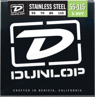 Dunlop DBS Stainless Steel Bass Extra Heavy 55-115